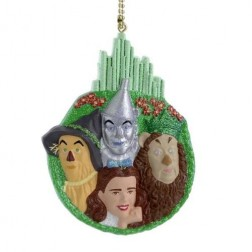 "Wizard Of Oz  4"" Dorothy And Group Blow Mold Clip-On"