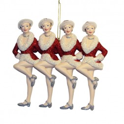 The Radio City Rockettes Showgirls Christmas Ornament