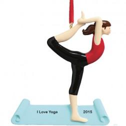 Yoga Pose    Personalized Ornament
