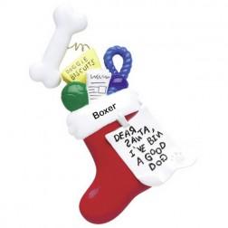 Dog Stocking    Personalized Ornament