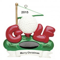 Golf    Personalized Ornament