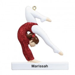 Gymnast Ornament