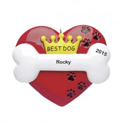 Best Dog    Personalized Ornament