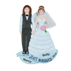 Same Sex Marriage    Personalized Ornament