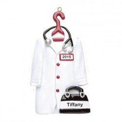 Doctor Personalized Christmas Ornament