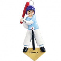 Tball Ball Personalized Christmas Ornament