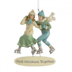 First Christmas Together Couple Ornament
