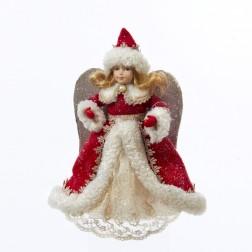 Vintage Decorated Angel Figurine Ornament