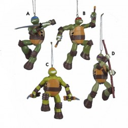 Ninja Turtles Christmas Ornament
