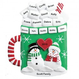 Christmas Mug Personalized Table Top
