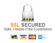 Your shopping experience is secured by a 256-bit SSL Certificate
