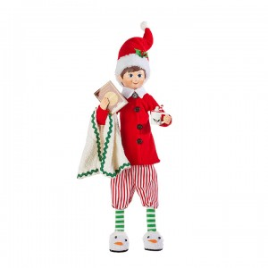 "16"" Posable Pajama Elf"