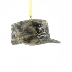 """3""""Resin U.S. Army Acu Cap Orn"""
