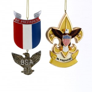 """4-4.5""""Bsa Eagle Badge/Fleur De Lis"""