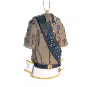 """3.625""""Eagle Scout Personlizable Orn"""