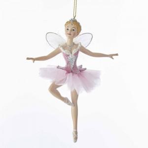 "5.88""Sugar Plum Fairy Orn W/Wings"