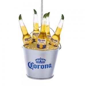 "3.75""Corona Bottles In Ice Bucket"