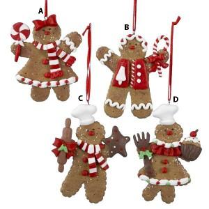 Peppermint Gingerbread Ornament