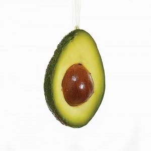 "3.94""Poly Avocado Orn"