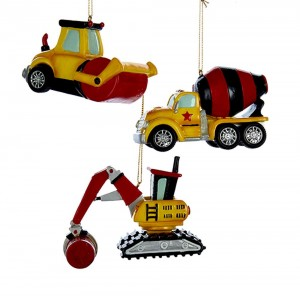 """3.8""""Res Construction Vehicle Orn 3A"""