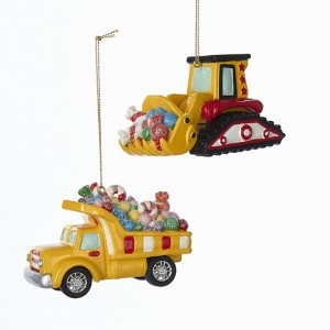 """3.8""""Candy Carrier Vehicle Orn 2/A"""