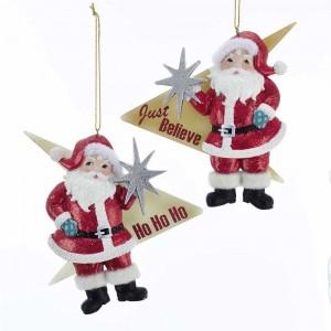 "4.63""Midcentury Santa W/Starbrst 2A"
