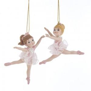 "3.75""Dancing Ballerina Kids Orn 2/A"