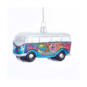 "4""Glass Grateful Dead Bus Orn"