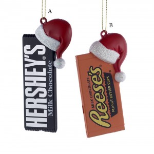 "3.5-4.5"" Hershey Bar with Hat"
