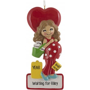 Mommy To Be Personalized Christmas Ornament