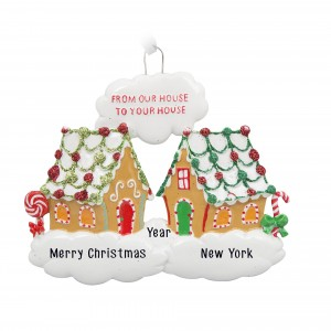 Sweet Neighbors Personalized Christmas Ornament