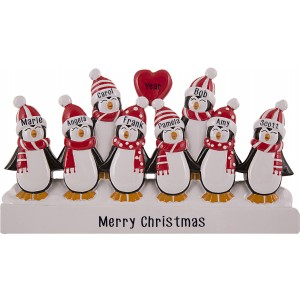 Penguin Family of 8 Table Top