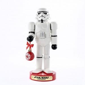 """10""""Storm Trooper W/Ball Nutcracker"""