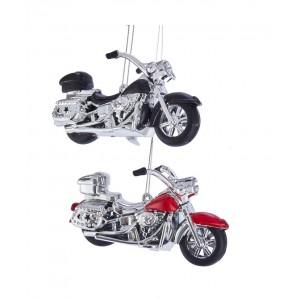 "4.8""Plastic Motorcycle Orn 2/Asstd"