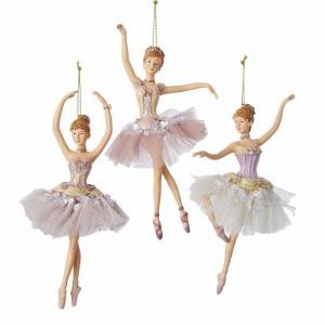 "6.5""Resin Ballerina Orn 3/Asstd"