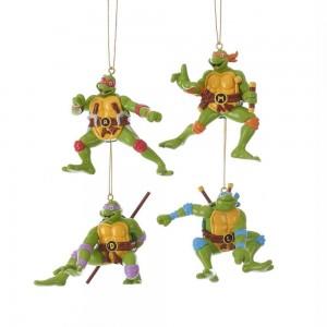Ninja Turtles Blow Mold Orn 4/Asstd
