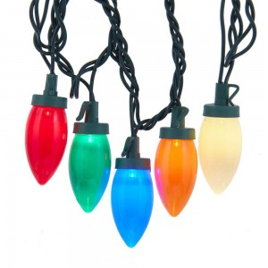 Ul 25/L Multi Led C9 Bulb Light Set