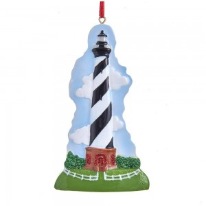 "4.375""Resin Hatteras Lighthouse Orn"