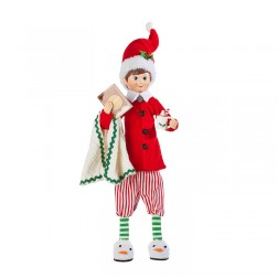 "Image of 16"" Posable Pajama Elf"