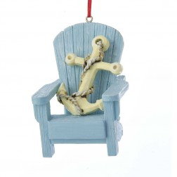 "Image of 3""Adirondack Chair W/Anchor Orn"