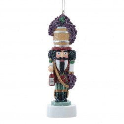 "Image of 5.25""Wine Nutcrackr Personalize Orn"