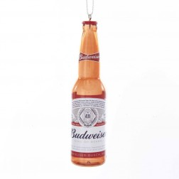 "Image of 4.5""Budweiser Bottle Blow Mold Orn"