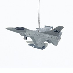 "4.25"" Resin U.S. Air Force™ Jet Ornament"