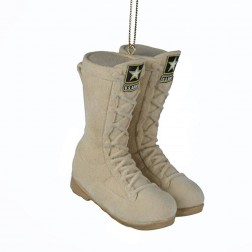 """Image of 3""""U.S. Army Flckd Combat Boots Orn"""