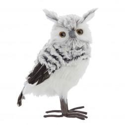 "Image of 10""Gray/White Owl"