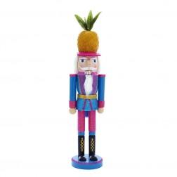 "Image of 15""Wdn Multi Pineapple Nutcracker"