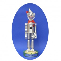 Traditional Tin Man Wizard of Oz Wooden Christmas Nutcracker
