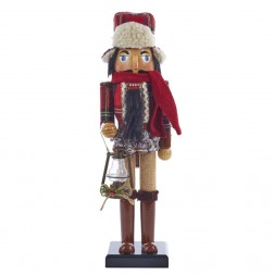 "Image of 15""Wooden Woodsman Nutcracker"