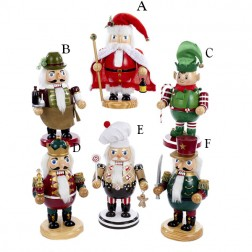 "Image of 8"" Wooden Nutcracker"