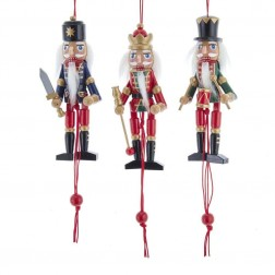 "Image of 5""Nutcracker Pull Puppet Orn 3/A"